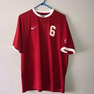 Vintage Nike Swoosh Soccer Jersey shirt